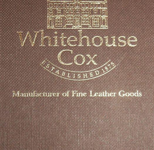 皇家御用—英国Whitehouse Cox马缰革零钱包